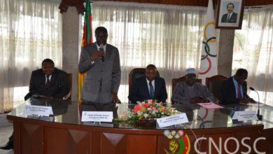 Photo of Le CNOSC a procédé à la signature du Protocole d'Accord des Dixiades 2014 avec la CUY