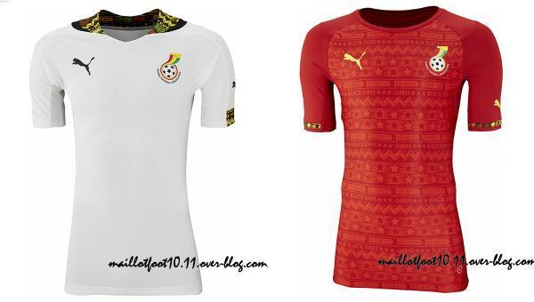 Les maillots des cinq pays africains qualifi s pour la - Pays qualifies pour la coupe du monde ...