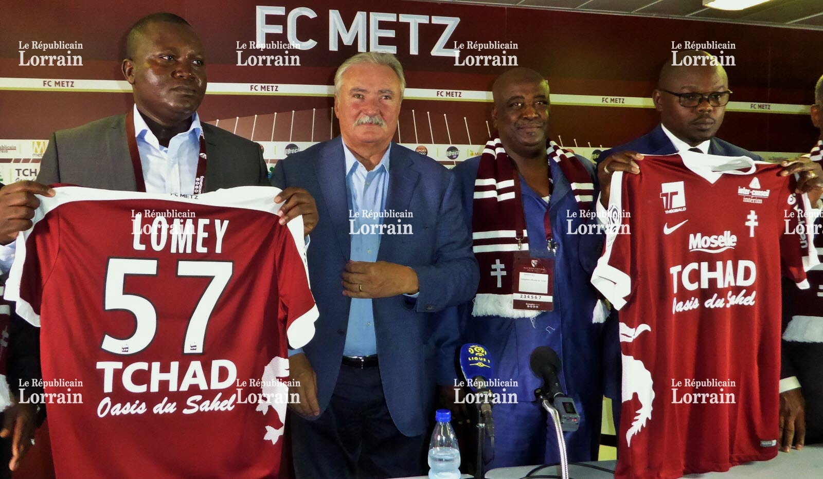 affaire sponsoring du fc metz le ministre tchadien des sports recadre les choses camerounsports. Black Bedroom Furniture Sets. Home Design Ideas