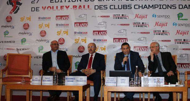 Coupe d afrique des clubs champions volley dames les poules sont connues camerounsports - Coupe d afrique des clubs ...