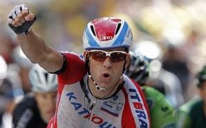 Cycling European Championship: Alexander Kristoff takes the sprint