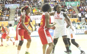 2017 Women Afro basket: Cameroon match schedule for group stages