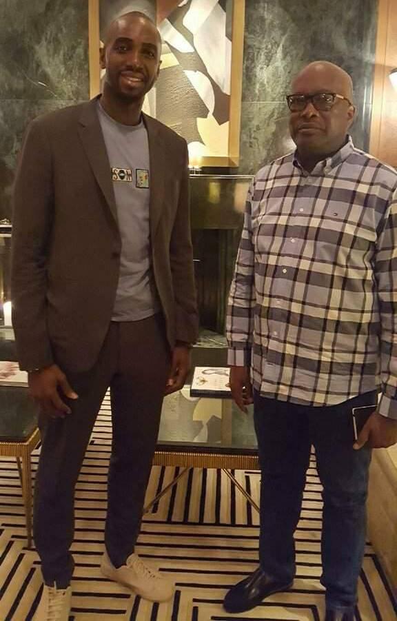 Le Basketteur Luc Mbah A Moute était présent à l'assemblée…