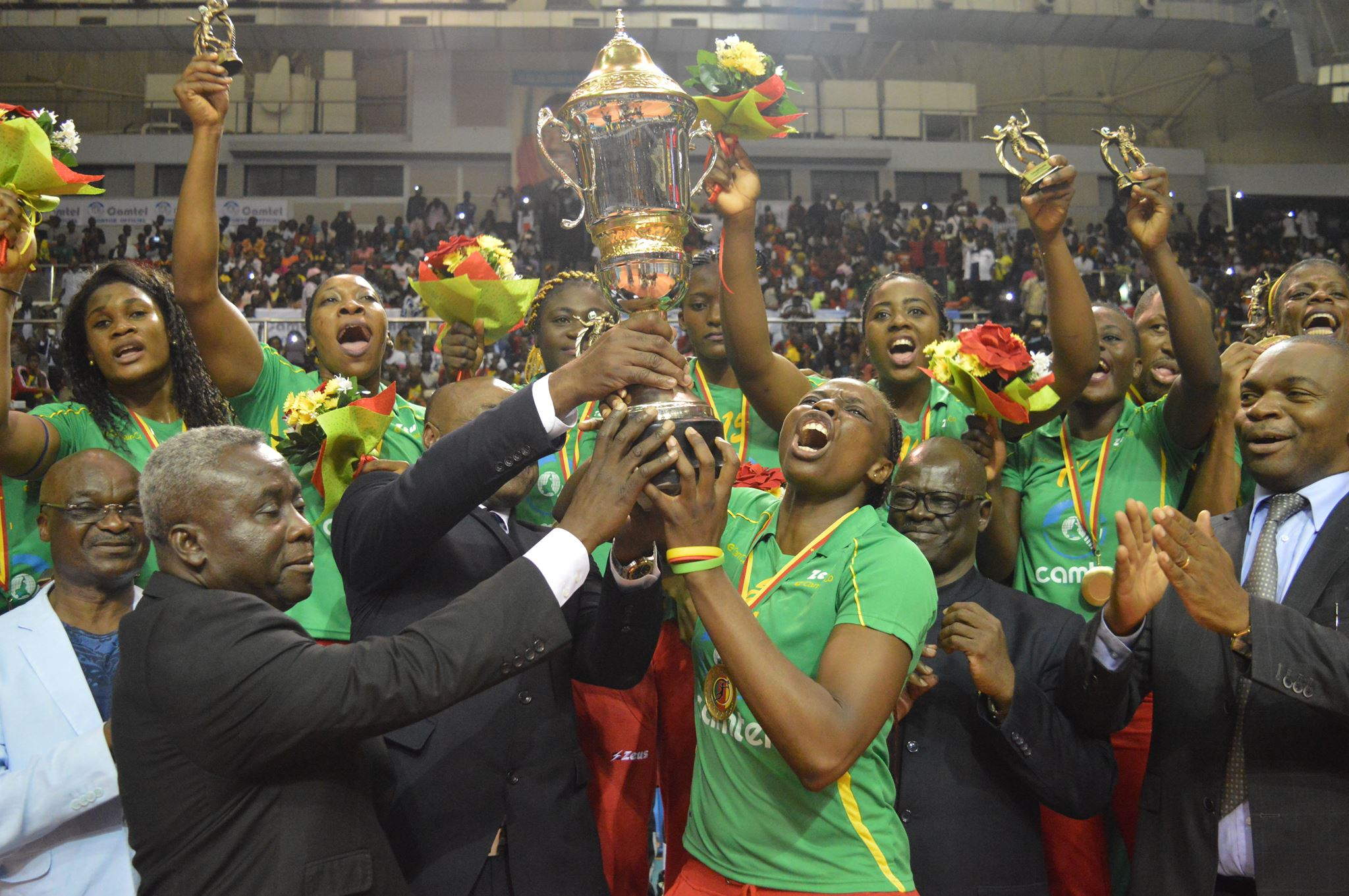 CAN Volleyball (D) 2017 : Le Cameroun champion d'Afrique