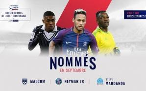 France : Les trois nommés pour le titre de joueur…