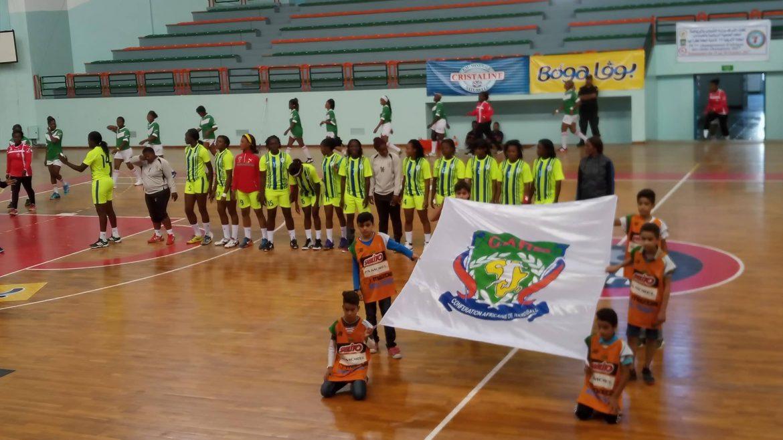 Demi finale coupe d 39 afrique des clubs champions de handball dames fap du cameroun limin par - Coupe d afrique handball ...