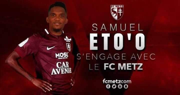 mercato quand la rumeur envoie samuel eto o au fc metz camerounsports. Black Bedroom Furniture Sets. Home Design Ideas