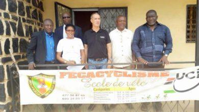 Photo de Tour Cycliste international du Cameroun 2019: Le Conseiller Continental de L'UCI est au Cameroun