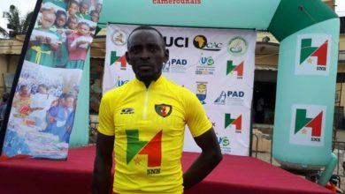 Photo de Tour Cycliste du Cameroun 2019, 4e étape : Le Camerounais Clovis Kamzong Abessolo nouveau maillot jaune