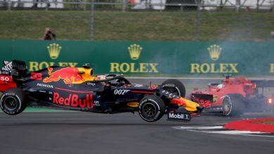 """Photo de Grand Prix de Grande-Bretagne (Vettel) : """"C'est ma faute"""""""