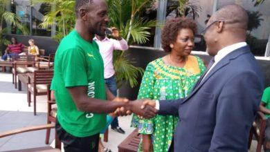 Photo de Tropicale Amissa Bongo 2020: l'Ambassadeur du Cameroun au Gabon félicite et encourage les Lions du vélo