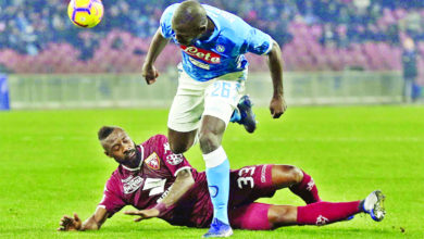 Photo of Naples : Nicolas Nkoulou pourrait remplacer Kalidou Koulibaly