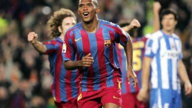 Photo of Samuel Eto'o dans le top 5 des meilleurs buteurs étrangers de la Liga