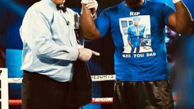 Photo of Boxe : CARLOS TAKAM dédie sa victoire à son père décédé