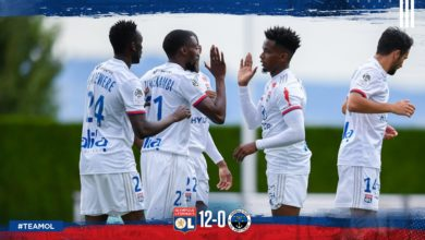 Photo of Amical : Lyon atomise Port-Valais (12-0), doublé de Karl Toko Ekambi