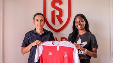 Photo de La Lionne indomptable Easther Mayi Kith rejoint Marie Aurelle Awona au Stade de Reims !
