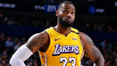 Photo of NBA : LeBron portera James au dos de son maillot