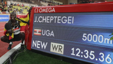 Photo de Le record du monde de Bekele effacé : le nouveau roi du 5 000 m, c'est Cheptegei !
