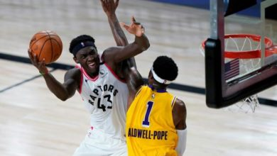Photo of Siakam et les Toronto Raptors dominent les Los Angeles Lakers LeBron James !