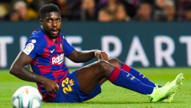 Photo of Umtiti testé positif au Covid-19