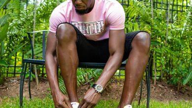 Photo de Usain Bolt testé positif au coronavirus