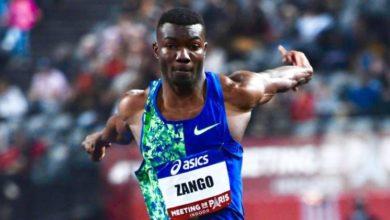 Photo de Le Burkinabè Hugues Fabrice Zango sacré champion de France 2020 en triple saut !