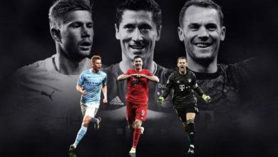 Photo de Les 3 nommés pour le titre du joueur de l'année de l'UEFA sont connus !