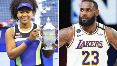 Photo de LeBron James félicite Naomi Osaka pour son titre à l'US Open : « Belle remontée » !