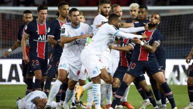 Photo de L'OM s'offre le PSG au Parc des princes dans un match très houleux !