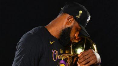 Photo de NBA : LeBron James devient le 1er joueur de l'histoire à être élu MVP des finales avec trois franchises différentes