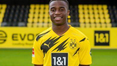 Photo de Allemagne : L'attaquant Camerounais d'origine, Youssoufa Moukoko, victime d'insultes racistes