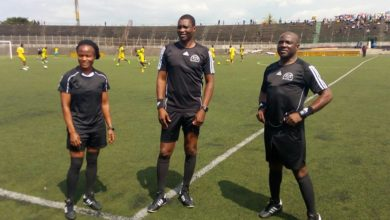 Photo de CHAN 2021: Carine Atezambong Fomo parmi les 3 arbitres camerounais retenus