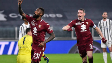 Photo de Calcio : Nkoulou Buteur, le Torino perd le derby face à la Juve