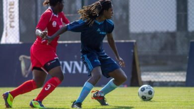 Photo de Cinq buts, 6 passes décisives avec Awa FC, Farida Machia retourne au Portugal, elle devrait s'engager avec Oureinse, club de D1 Portugais