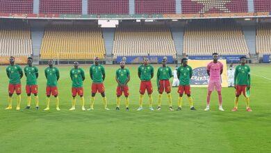 Photo de Rigobert Song aux Lions A' : « Donnez le maximum de vous, soyez des lions, Rugissez… »