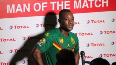 Photo de CHAN2020 : Martin Loïc Assomo, élu homme du match