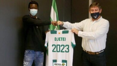 Photo de Mohamed Djetei au Córdoba FC jusqu'en 2023