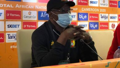 Photo de CHAN2020/Ndtoungou Mpile après le match Cameroun Vs Burkina: «Entre le jeu flamboyant et la qualification, je choisis la qualification…»