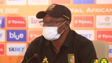 Photo de Martin Ntoungou Mpile : « il faudrait que les joueurs soient plus adroits devant les buts »