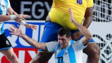 Photo de De la Nationale 2 au Mondial de handball : Gauthier Mvumbi, un pivot atypique dans la lumière