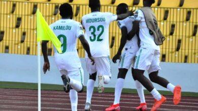 Photo de Quart de finale Coupe CAF : Coton sport s'impose sur le fil grâce à Lambert Gueme Araina