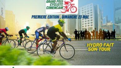 Photo de Le grand prix cycliste Cimencam ce 23 Mai à Douala