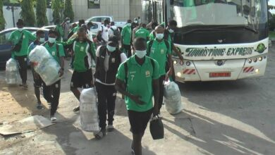 Photo de Quart de finale coupe CAF : ASC Jaraaf du Sénégal qui affronte Coton Sport de Garoua est en terre Camerounaise