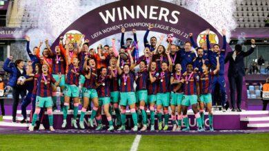 Photo de FC Barcelone écrase Chelsea (4-0) et remporte sa première Ligue des champions Féminine