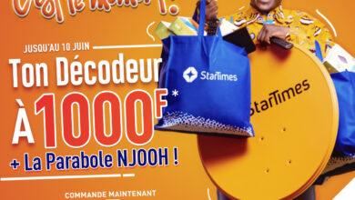 Photo de StarTimes casse les prix: 1.000 Fcfa le Décodeur avant l'Euro 2020