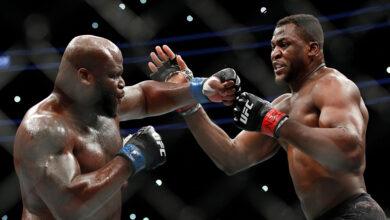 Photo de Après ton titre de champion du monde, Francis Ngannou devrait faire sa première défense de ceinture contre Derrick Lewis