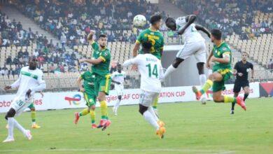 Photo de Coupe CAF (Demi-finale Aller): Coton Sport s'incline à domicile face à la JSK