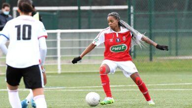 Photo de La lionne indomptable Marie-Aurelle Awona quitte le Stade de Reims