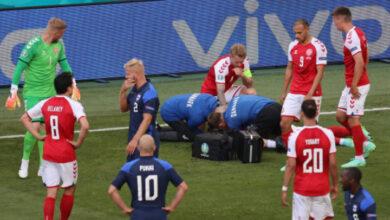 Photo de Euro 2021 : Prions pour Christian Eriksen victime d'un grave malaise pendant Danemark – Finlande