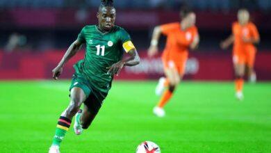 Photo de JO 2021 Football féminin : La Zambienne Barbra Banda, c'est 6 buts en deux rencontres